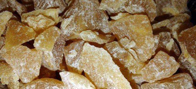 цукаты из топинамбура