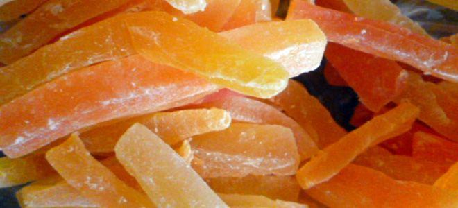 цукаты из дыни