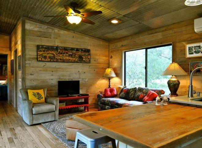дом из модулей в стиле-ранчо