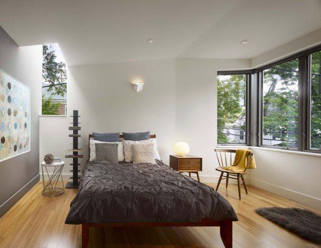 спальня в модульном доме