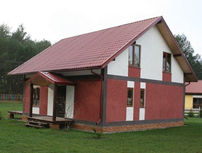 каркасный легкий модульный дом высокой готовности
