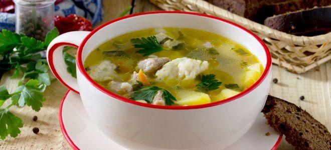 Суп с клецками пошаговый рецепт