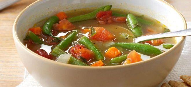 Фасолевый суп пошаговый рецепт