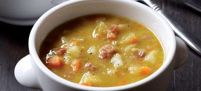 Гороховый суп пошаговый рецепт