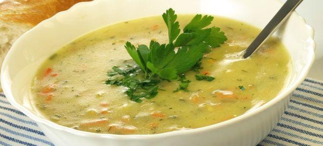 Овощной суп юре рецепт