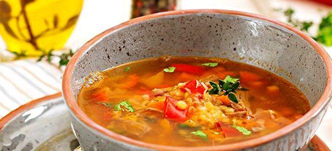 Чечевичный суп пошаговый рецепт