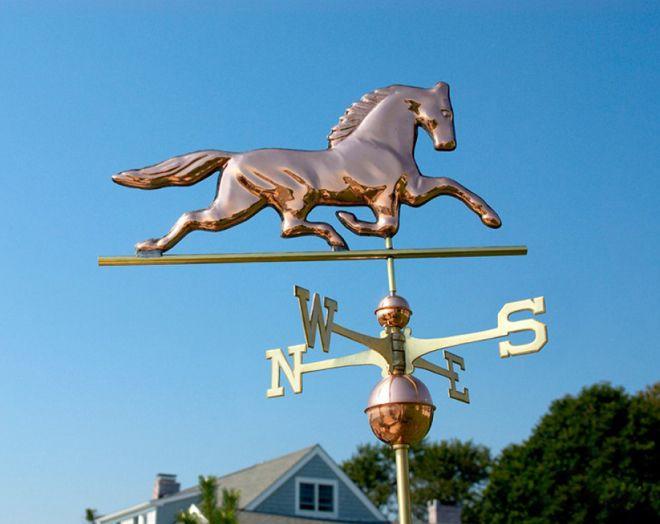 флюгер конь