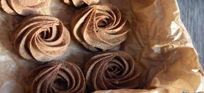 шоколадный зефир