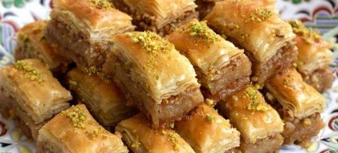 как приготовить турецкую пахлаву