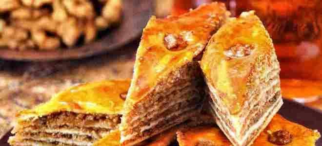 азербайджанская пахлава рецепт