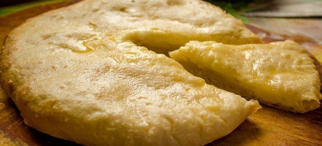 выпечка на скорую руку с сыром сулугуни