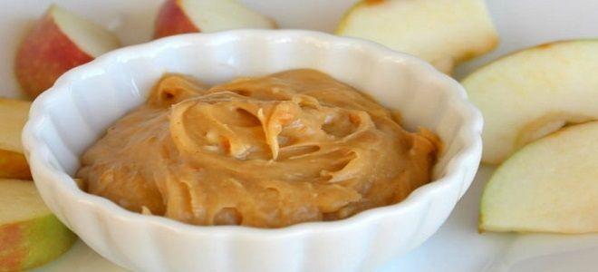 арахисовая паста с сыром
