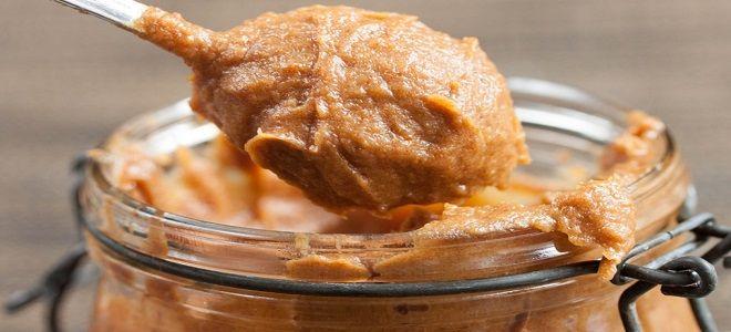 арахисовая паста с финиками