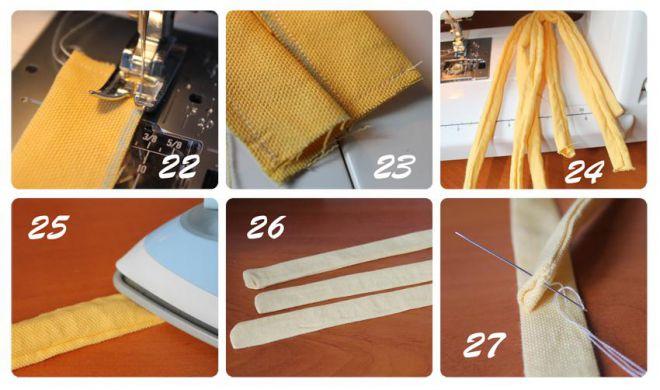 как сшить фартук для кухни своими руками 10
