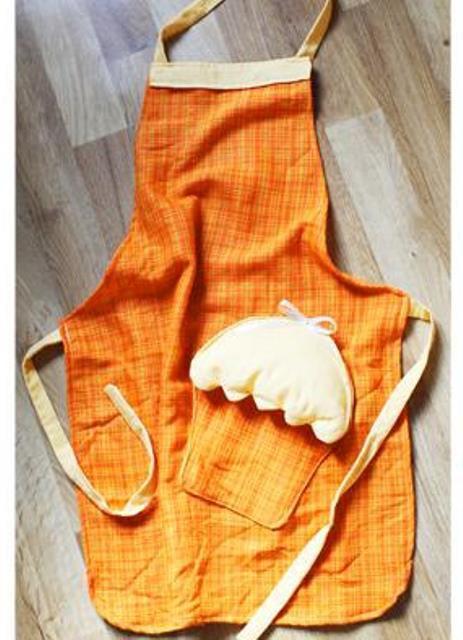как сшить фартук для кухни своими руками 16
