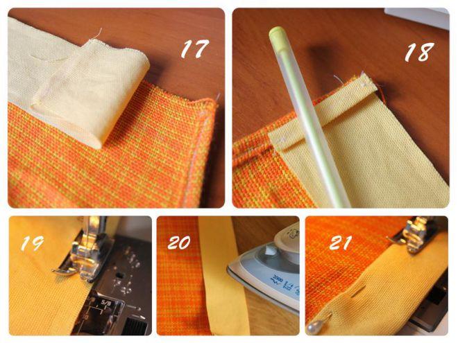 как сшить фартук для кухни своими руками 9