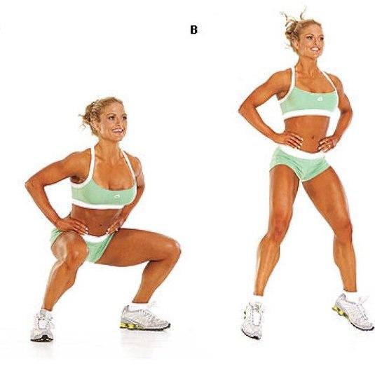 как похудеть в ногах за 3 недели