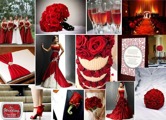 Как сделать фото в красном цвете