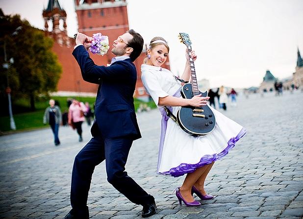 Необычные идеи свадьбы фото