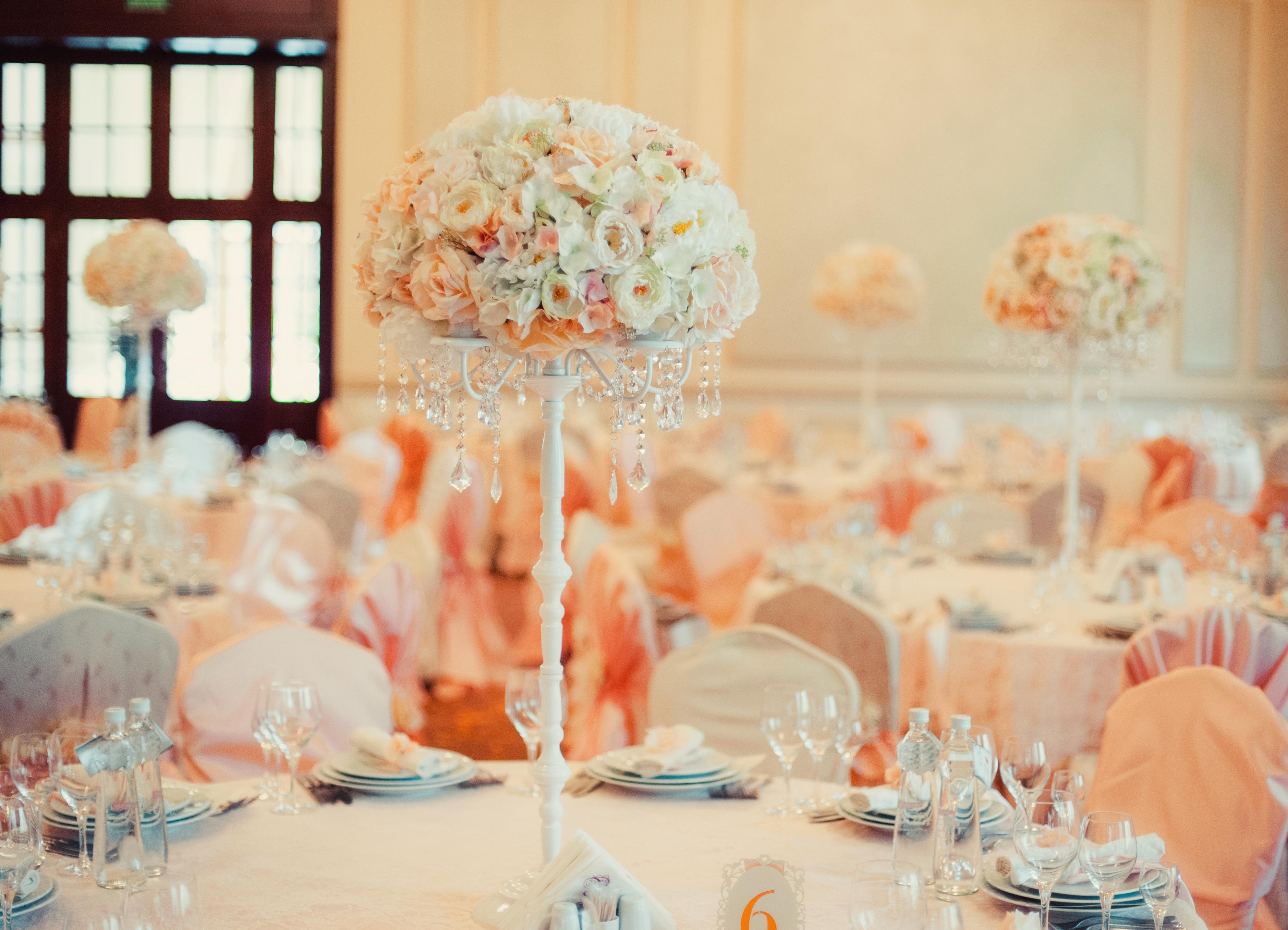 Оформить свадебный зал своими руками 85