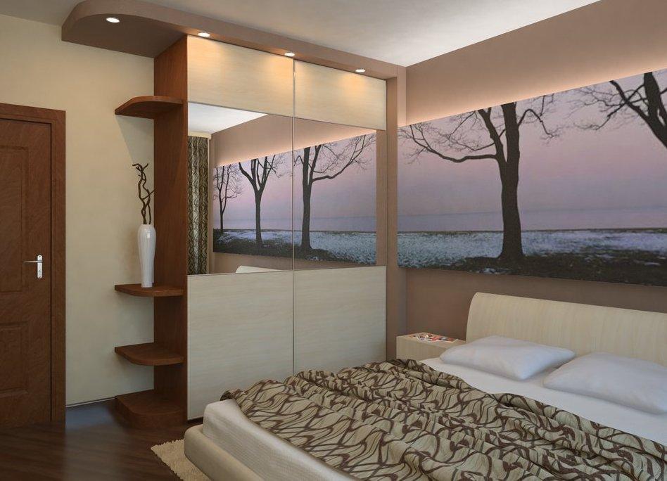 Фото дизайна спален в хрущевках
