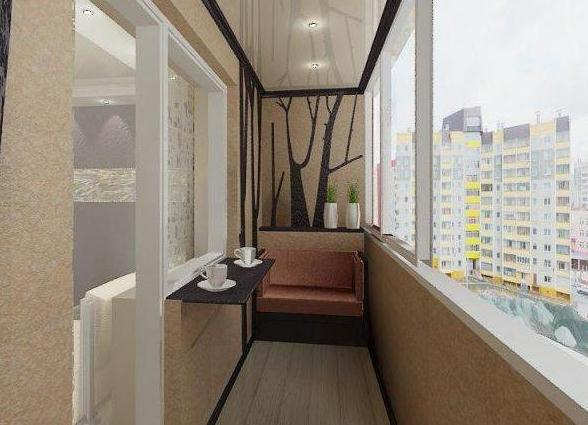 Дизайн балкона фото в хрущевке