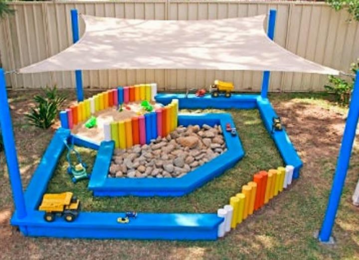 Как обустроить детскую площадку в саду