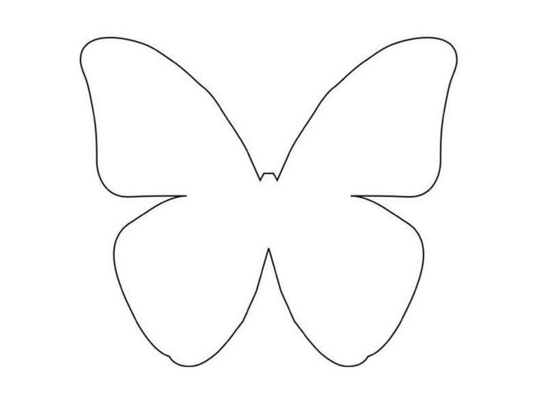 Как сделать бумажную бабочку фото 236