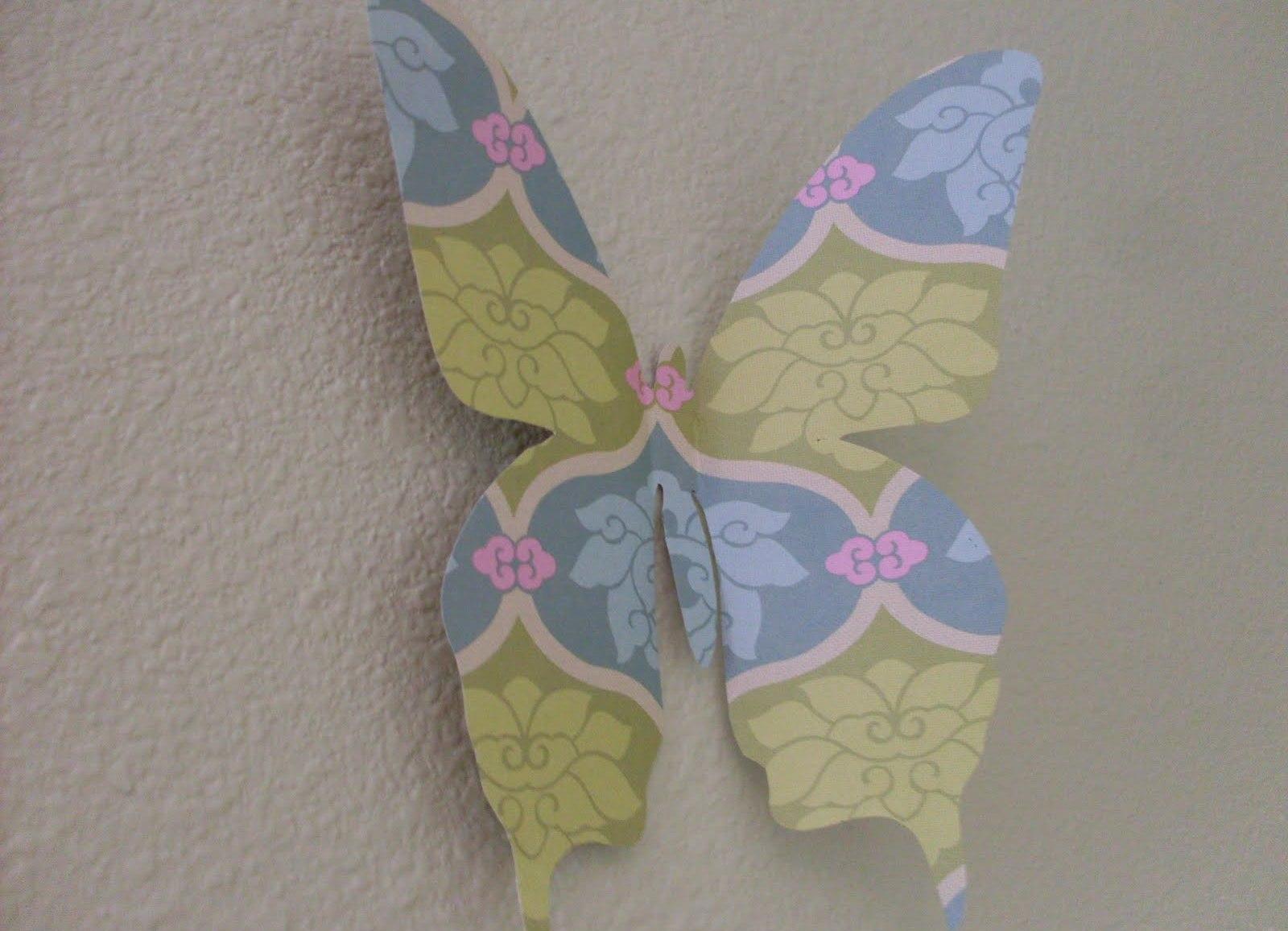Handmade бабочка сделать своими руками