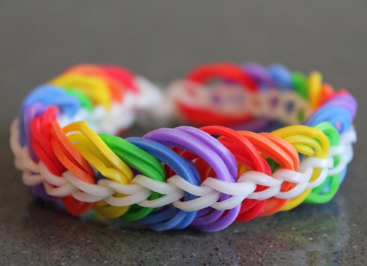 Плетение браслетов резиночек