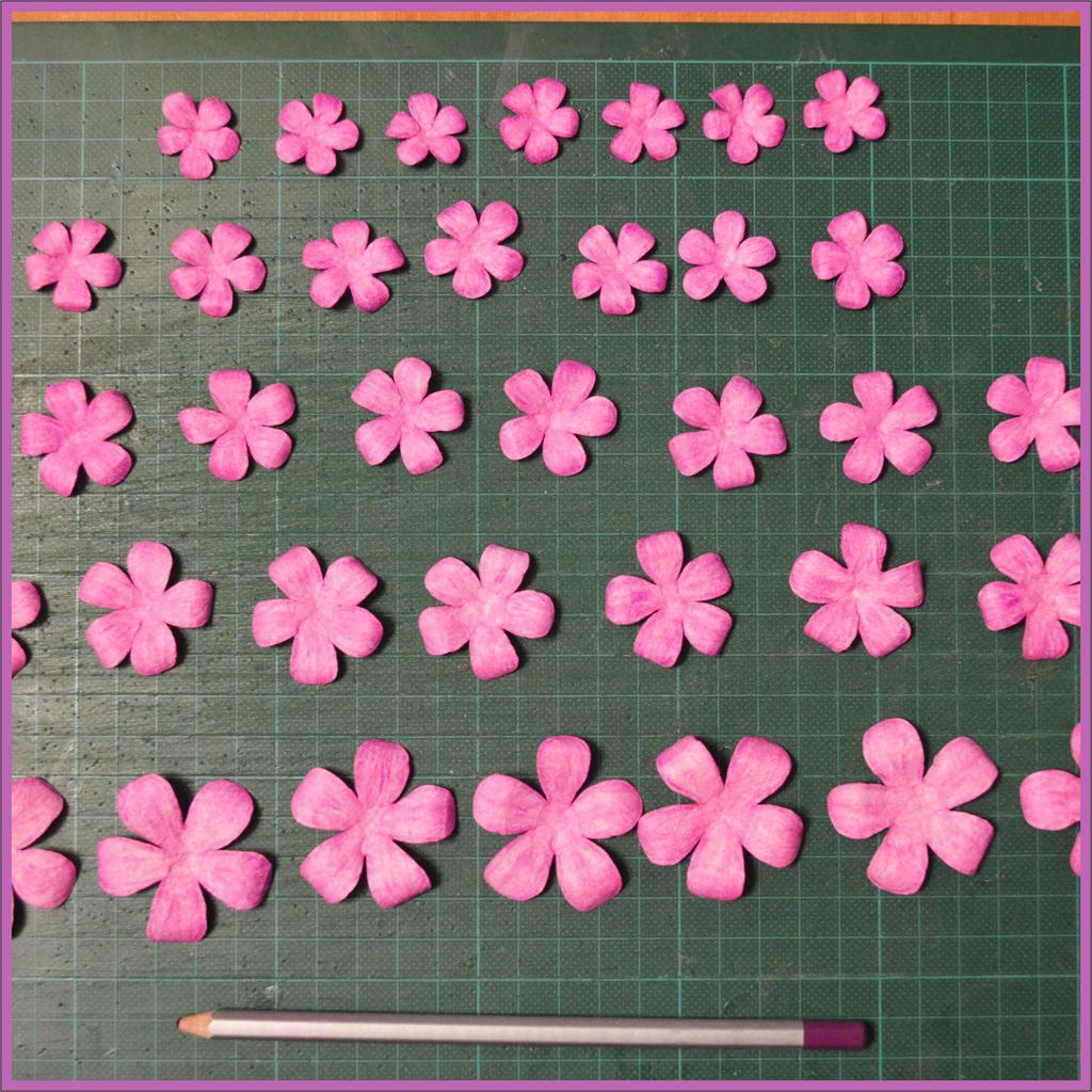 Цветы для скрапбукинга своими руками схема