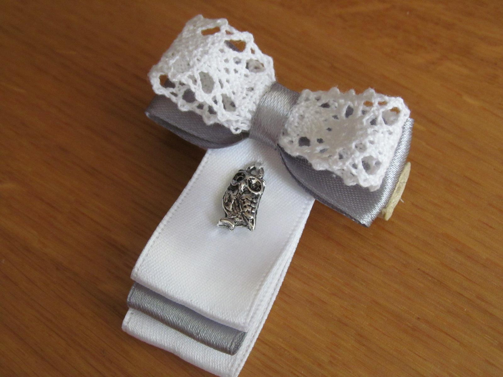 Как сделать галстук из ленты своими руками