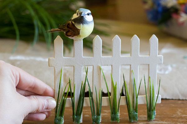 Искусственная трава для поделки своими руками 80