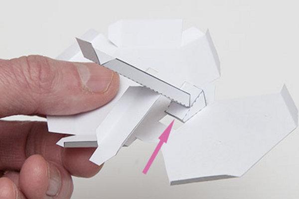 Как сделать из бумаги гармошку?