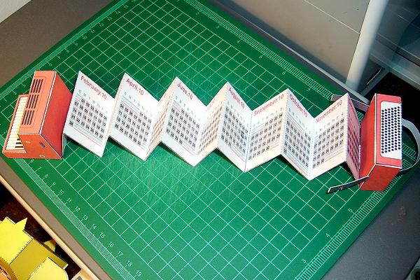 Оригами из бумаги гармошка