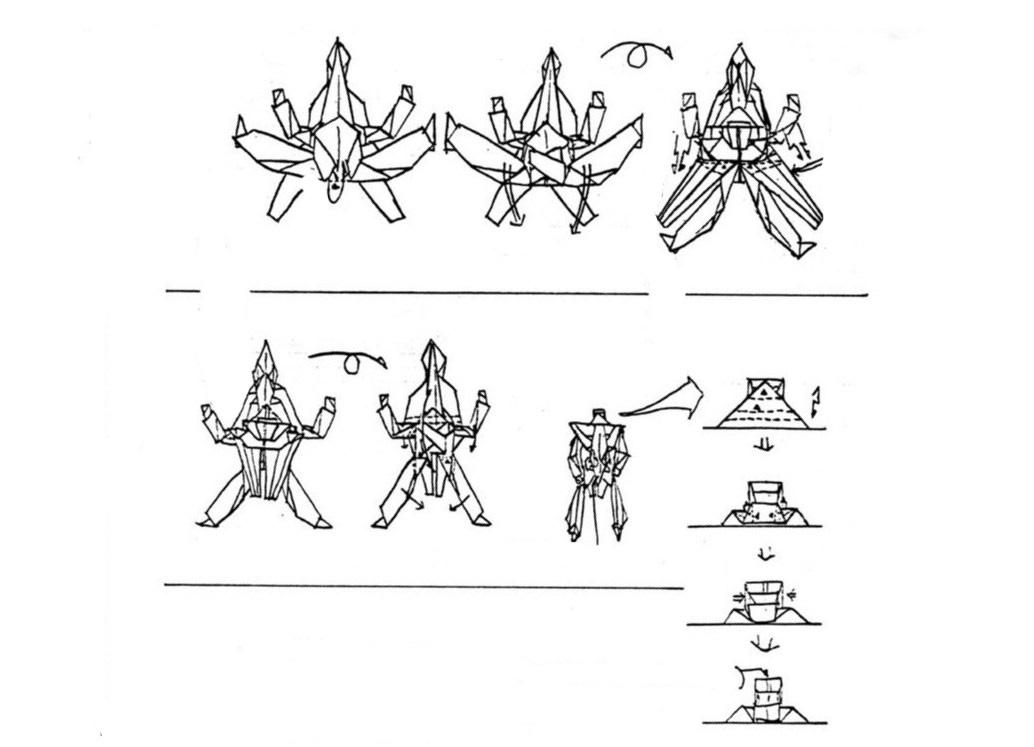 робота-трансформера из