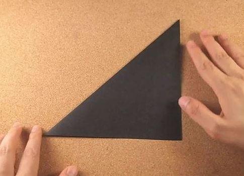 Как сделать оригами кунай 682