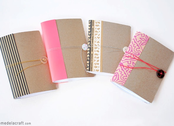 Как сделать из бумаги дневник