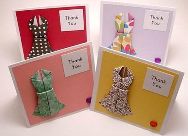Оригами из бумаги на день рождения маме своими руками