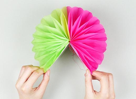 Объемные шар из бумаги