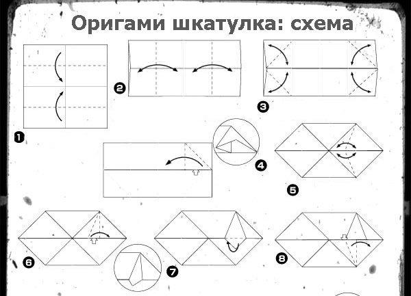 знакомы с техникой оригами