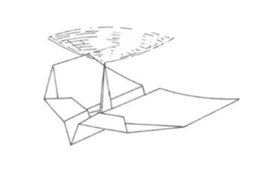 лист бумаги формата А4 и