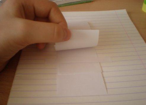 Как сделать в дневнике водопад 853