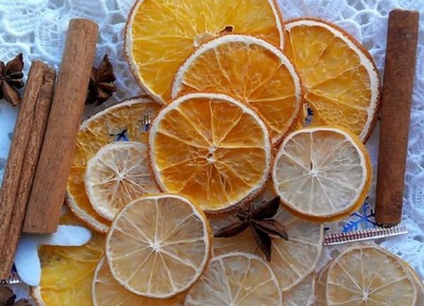 Сушим апельсины для декора