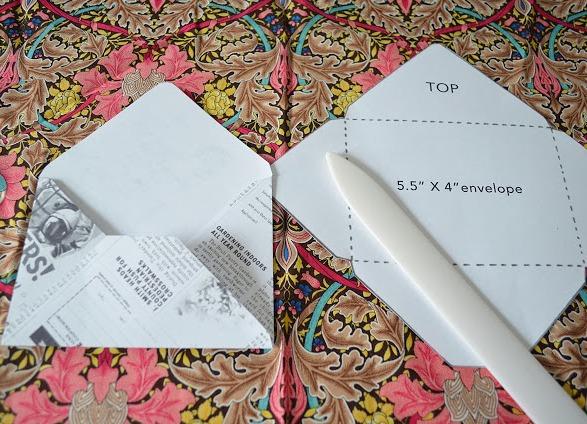 Рисунки на конвертах своими руками