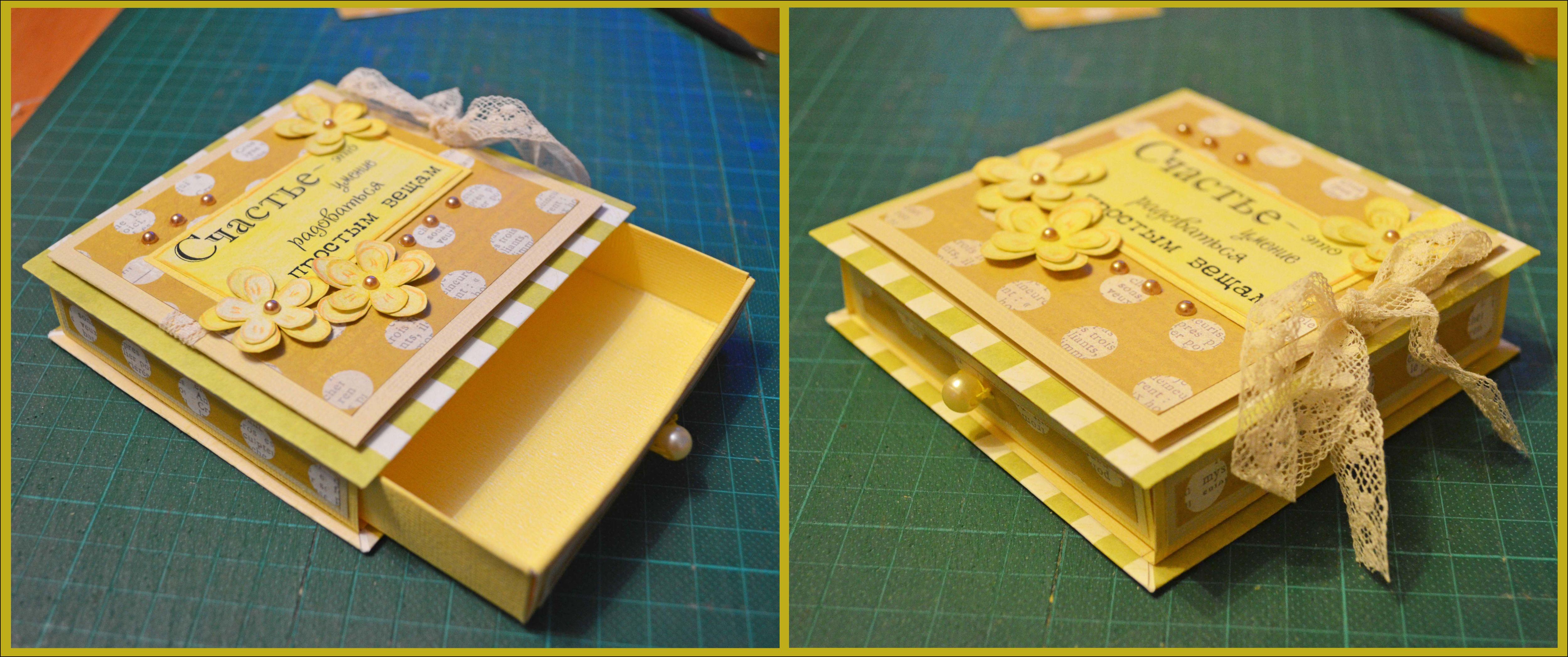 Ящик для открыток своими руками 59