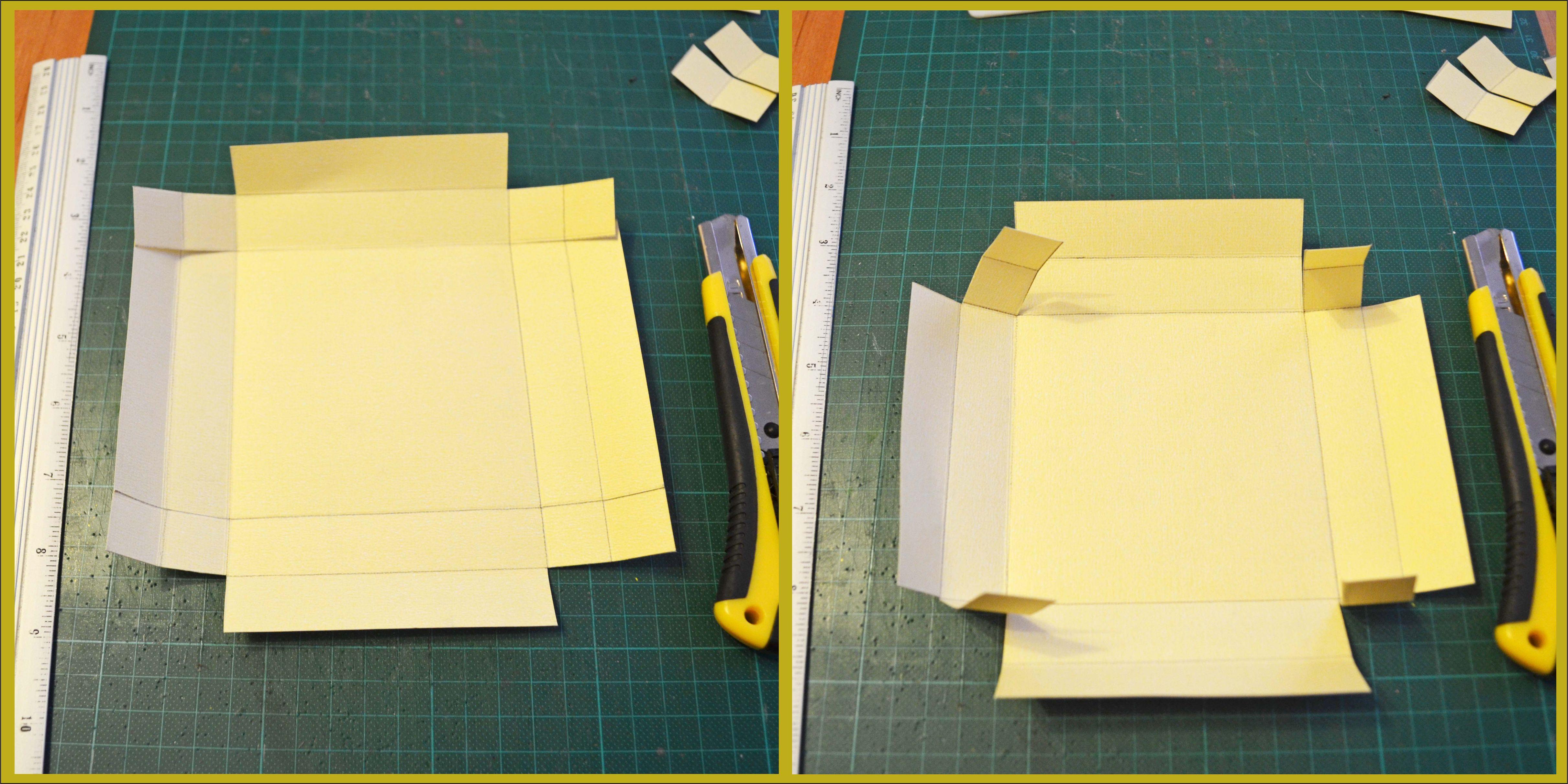Как сделать коробку для день рождения своими руками