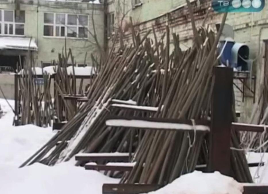 кресло качалка из лозы 1