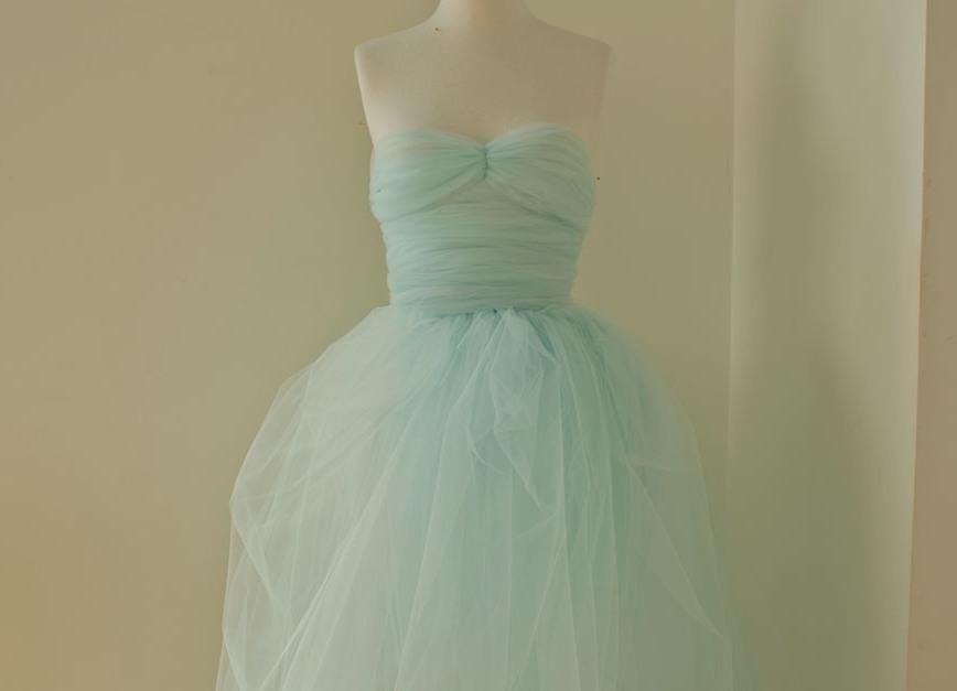 Пошить платья с фатином