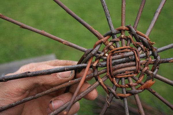 Плетение морд из ивы 44